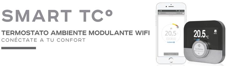 SMART TCº, termostato ambiente modulante WIFI
